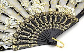 church fans in bulk omytea rose lace folding hand held fans bulk for women spanish