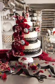 day of the dead wedding cake day of the dead cake wedding and event magazine