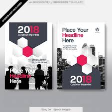 free book cover designs templates city background business book cover design template vector