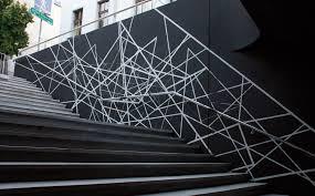 seikon black staircase geometry black poland graffiti