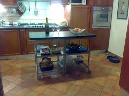 simple kitchen with island interior design