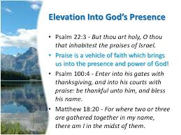 the power of your praise