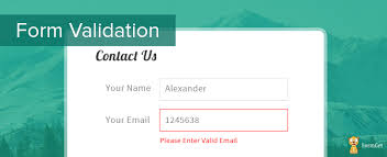 html input pattern alphanumeric form validation using javascript formget