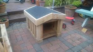 how to build a small dog kennel out of pallets ste youtube