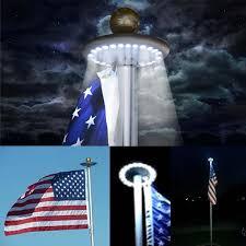 solar led flagpole light flag pole led light fixtures home design game hay regarding the