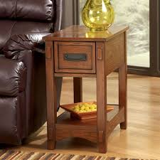 Mission Style Nightstand Mission Style Chairside End Table Signature Design By Ashley