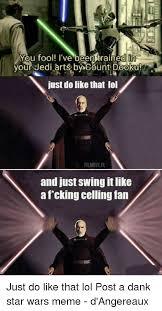 Best Star Wars Meme - 25 best memes about dank star wars dank star wars memes