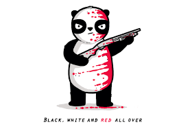 black red and white by aaron jay threadless