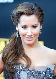 party hair style for aged women side hairstyles are more demanding for prom party long hair are