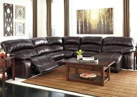 Brown Leather Reclining Sofa by Loukas Leather Reclining Sectional Sofa With Chaise By Coaster