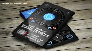tools4dj dj business cards templates youtube