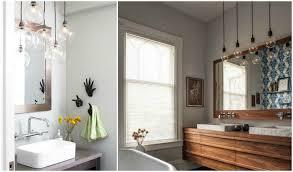 bathroom pendant lighting ideas create a clean bathroom with the right suspension light