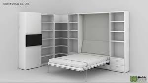 matrix space wall bed murphy bed space saving furniture suki