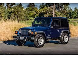 jeep 2003 2003 jeep wrangler for sale classiccars com cc 1003091