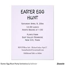 easter egg hunt party invitation and matching supplies zazzle home