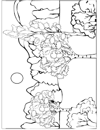 autumn coloring page autumn scene coloring home