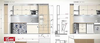 cuisine 15m2 aménagement cuisine 15m2 unique beau am nagement bureau chambre