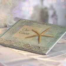 themed guest book seashore our guests theme guest book other wedding ideas