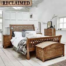 lewes reclaimed wood bedroom furniture set wheat bedroom ranges