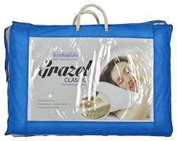foam bed pillow kurlon grazel classic memory foam bed pillow 24 x 16 x 4