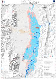 Irrawaddy River Map Gis Resources Mimu