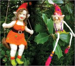 needle felting for the holidays elves and ornaments smithsonian
