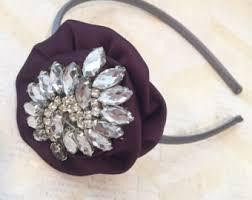 silver headband silver headband etsy
