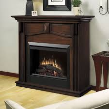 Electric Fireplace With Mantel Dimplex Holbrook Electric Fireplace Mantel Package In Burnished