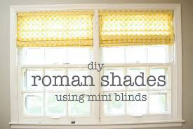 How To Make Material Blinds Top How To Make Inexpensive No Sew Roman Shades I Heart Nap Time