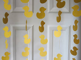 duck decorations paper garland duck garland baby shower garland baby shower