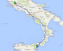 Map Of Italy And Sicily by Road Rules Learning To Drive In Sicily Camels U0026 Chocolate