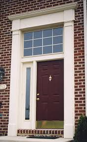 Exterior Door Pediment And Pilasters Pilasters Interior Pilasters And Exterior Pilasters For Door Trim