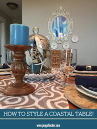 jen gallacher how to style a coastal kitchen table