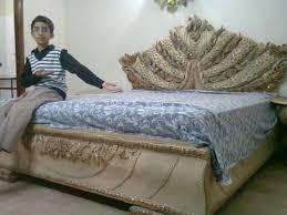 Sell Bedroom Furniture Original Chiniot Bedroom Set Sheesham Wood For Urgent Sale Karachi