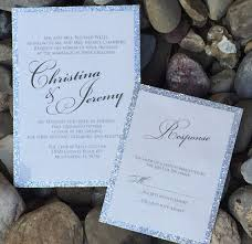 silver wedding invitations silver wedding invitation silver glitter wedding invitations