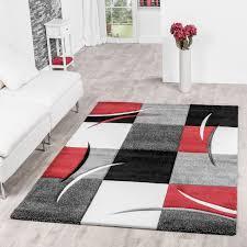 Schlafzimmer Teppich Kaufen Wohnzimmer Einrichten Ideen In Wei Schwarz Und Grau In Der Schwarz