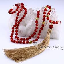bead necklace with tassel images Mala beads wholesale 108 meditation beads mala bead necklace with jpg