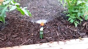 micro sprinkler system youtube