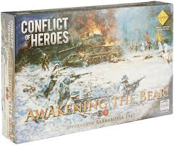 amazon com conflict of heroes awakening the bear 2nd edition
