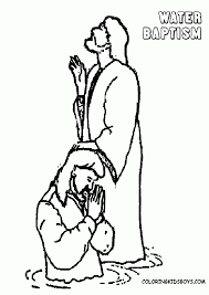100 jesus baptism coloring page 253 best lds children u0027s