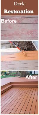 wood deck restoration with behr deckover painting contractors