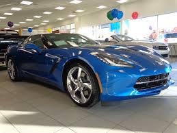 corvette stingray laguna blue