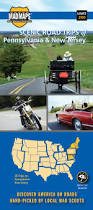 Maps Of Pennsylvania by Mad Maps Usrt200 Scenic Road Trips Map Of Pennsylvania And New