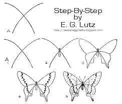 by how to draw a butterfly images search