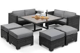 Maze Rattan Sofa Cube Set Maze Living - Wicker sofa sets