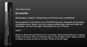 sebastian reshaper professional hair styling products infiniti s hair care and skin