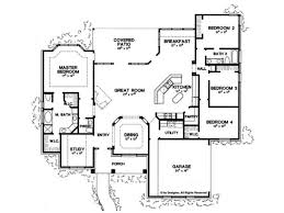 2500 Sq Ft Ranch Floor Plans 1950s Atomic Ranch House Plans House Plans
