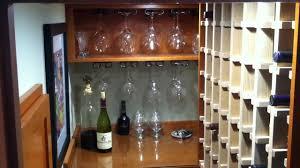 under staircase wine storage youtube