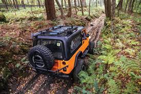 overland jeep setup mighty sherpa cj 8 scrambler turned overland adventurer tread