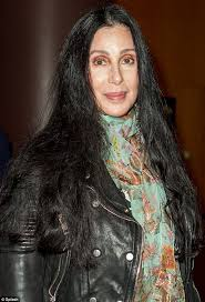long hair on 66 year old never too old for leggings cher defies her 66 years as she steps